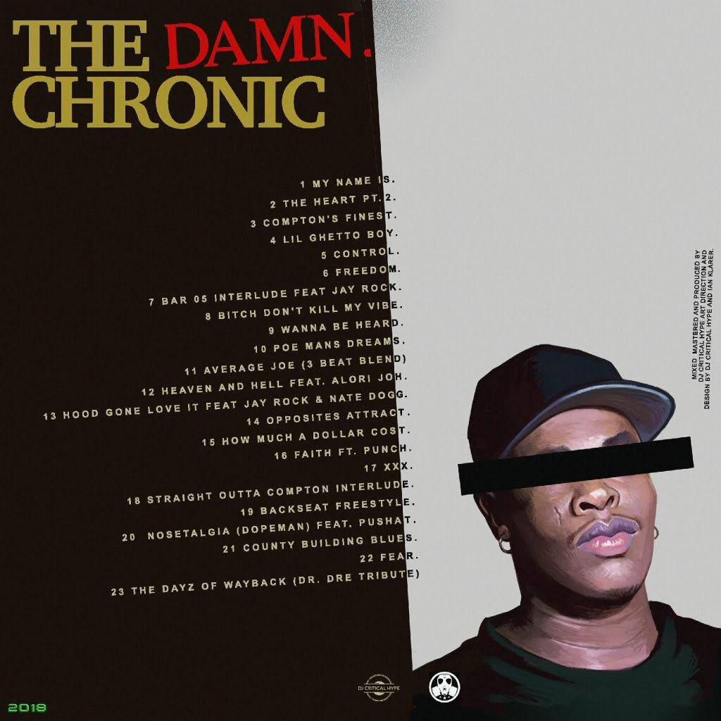 Back: Kendrick Lamar, Dr. Dre - The Damn. Chronic
