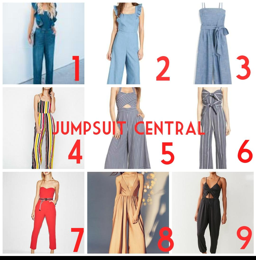 Jumpsuit collage