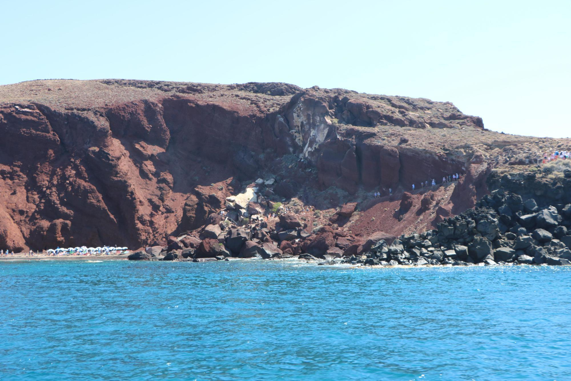 Sailboat tour Santorini